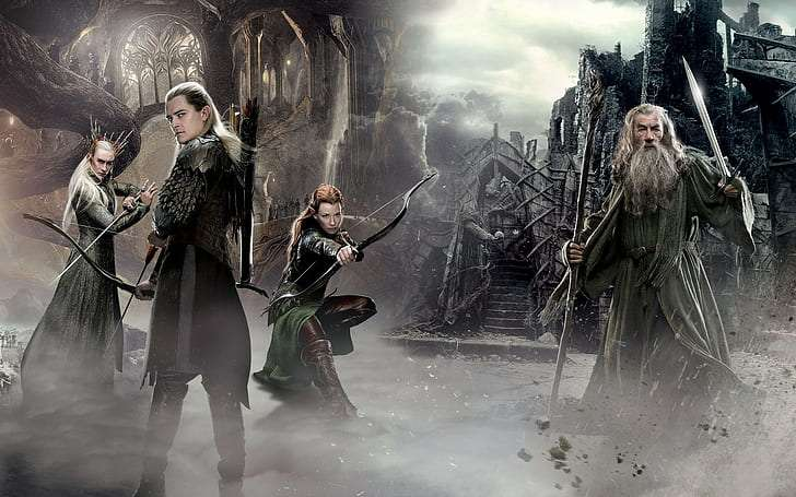 The Hobbit: Did Legolas fight in the Battle of Five Armies?